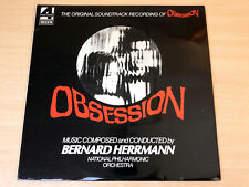 EX/EX !! Bernard Herrmann/Obsession/1976 Decca Soundtrack LP
