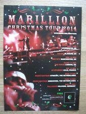MARILLION - WORLD CHRISTMAS TOUR DATES 2014 - UK MUSIC PRESS ADVERTISEMENT