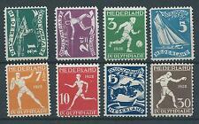 1928TG Nederland Olympiade Amsterdam  NR.212-219  postfris mooie serie..