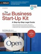 The Small Business Start-Up Kit : A Step-By-Step Legal Guide by Peri Pakroo...