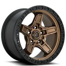 17x9 Fuel Wheels D699 Kicker 5 5x15000 Bronze Center W Black Lip 1 S43 Fits Nissan Armada