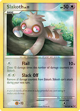 Slakoth Reverse Holo Common Pokemon Card Pt1 Platinum 95/127