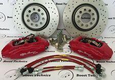 Kit Pinze Impianto Frenante Brembo Maggiorato 4 Pot 330x28 Alfa Romeo Giulietta