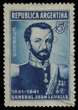 ARGENTINA 479 (Mi465) - General Juan Galo de Lavalle Death Centenary (pa68956)