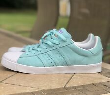 Adidas Superstar Vulc Adv Men's Skateboarding Shoes Size 11 Blue Pastel CG4840