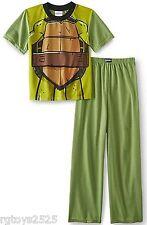 Teenage Mutant Ninja Turtles Costume Pajamas Size 8 Medium New Green Sleepwear