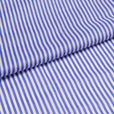 100% cotton fabric blue and white stripe print striped design 100g/meter,CT052