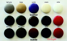 Nail Back Upholstery Buttons Leather Suede covered buttons Harlequin
