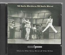 CD COMPIL 18 TITRES--THE WHO--WHO'S BETTER WHO'S BEST - THE VERY BEST