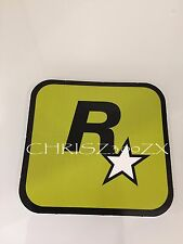 "Grand Theft Auto V 5 Rockstar Games LOGO Sticker Decal Olive Green 3"" x 3 1/16"""