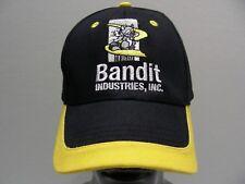 BANDIT INDUSTRIES - ONE SIZE ADJUSTABLE STRAPBACK BALL CAP HAT!