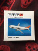 BOEING 737-300-Modellflugzeug-SAA South African Airways-1:500-Herpa Wings-500326
