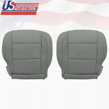 2005-2015 GrayFront Driver Passenger bottom Leather Seat Cover for Nissan Armada