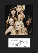 SPICE GIRLS #3 Signed Photo Print A5 Mounted Photo Print - FREE DELIVERY
