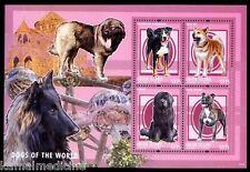 Union Island Gr St Vin 2013 MNH SS, Dogs of World, Akita Inu, Pets (N1n)