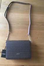 beautiful ladies genuine DKNY bag crossover bag coated bnwt