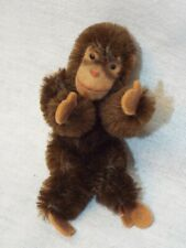 "Vintage Miniature 4"" Mohair Steiff Jocko Monkey Absolutely Adorable!!"