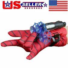 Us Spider-Man Web Shooter Dart Blaster Launcher Spiderman Costume Glove Kid Gift