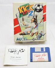 Vintage Retro Commodore Amiga Game KICK OFF 2 (SOCCER) (Disk) 1990 *FREEPOST*