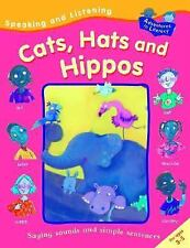 Speaking and Listening Cats, Hats, and Hippos (Adventures in Literacy)