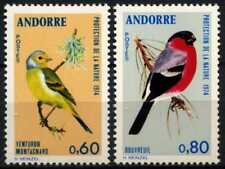 Andorra French 1974 SG#F259-F260 Nature Protection Birds MNH Set #D71780