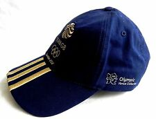 OFFICIAL OLYMPIC GAMES LONDON 2012 BASEBALL CAP HAT BLUE TEAM GB ADIDAS