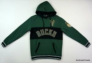 Milwaukee Bucks Hooded Sweatshirt Size Medium NBA Hoodie Unk NWT NEW