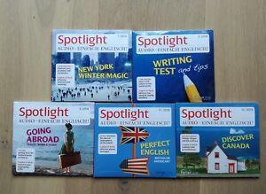 Spotlight Englisch Audio CD - Jahrgang 2014 - 5 Stück - Schule/Beruf OVP