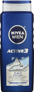 Nivea Men Shower & Shave Bodywash 16.9oz