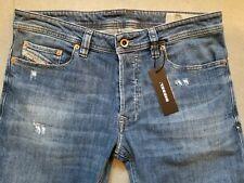 DIESEL jeans for men NWT style SAFADO medium blue stretch size 30