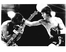Carlos Monzon vs. Rodrigo Valdez Glossy 8x10 Black and White Boxing Fight Photo