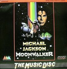 MICHAEL JACKSON-MOONWLAKER LP LASER DISC 1988 (USA) THIS A LASER DISC TO BE