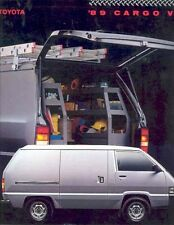 1989 Toyota Cargo Van Sales Brochure mw5423-RO1E7X
