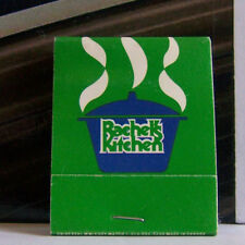 Rare Vintage Matchbook Cover D1 Nashville Tennessee Rachel's Kitchen Opryland