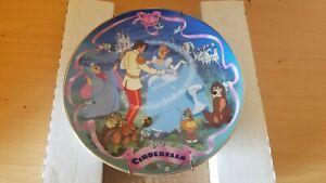 Bradford Exchange Cinderella Disney Wish Come True Musical Plate Good Shape!