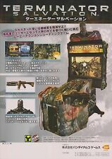 2009 RAW THRILLS TERMINATOR SALVATION JP VIDEO FLYER