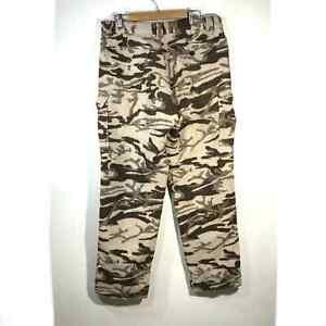 Vintage Columbia Wool Blend PHG Gallatin Range Camo Pants Size 36W X 36L
