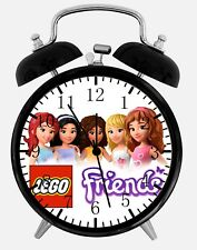 """Lego Friends Alarm Desk Clock 3.75"""" Home or Office Decor Z186 Nice For Gifts"""