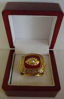Len Dawson - 1969 Kansas City Chiefs Super Bowl Ring WITH Wooden Box