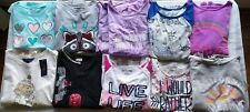 Children's Clothing Lot Mixed Sizes Large XL 12-16 long sleeve Tops Lot Girls