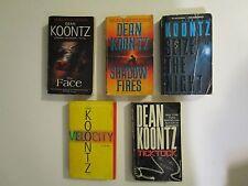Dean Koontz - 5  paperback books by Author