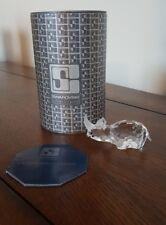 Swarovski Silver Crystal Rhinoceros 7622Nr70