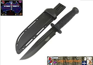 """Defender Xtreme 13""""Tactical Hunting Knife Black ABS Handle Stainless Steel Blade"""