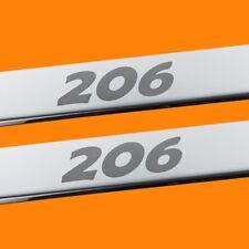 410217 BRILLANT 2 LES SEUILS DE PORTE CONVIENT POUR PEUGEOT 206 (206)