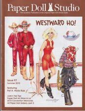 Paper Doll Studio Magazine Westward Ho! Issue 97 Summer 2010