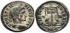 CONSTANTINE THE GREAT (321 AD) Rare Follis. Lyons #MU 5862