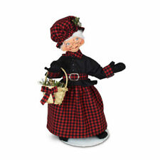 Annalee Dolls 2021 Christmas 9in Winter Woods Mrs. Santa Plush New with Tag
