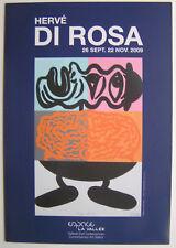 HERVE DI ROSA  - Carton d invitation - 2009