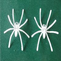 10PCs Halloween Luminous Portable Small Spider Night Supplies Decor Props Party