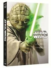 PACK TRILOGIA STAR WARS EN DVD LAS PRECUELAS - EPISODIOS I, II Y III NUEVO - DVD